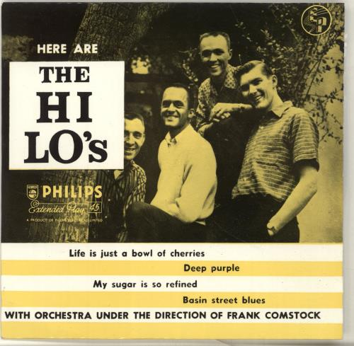 "The Hi-Lo's Here Are The Hi Lo's EP 7"" vinyl single (7 inch record) UK T8Z07HE697710"