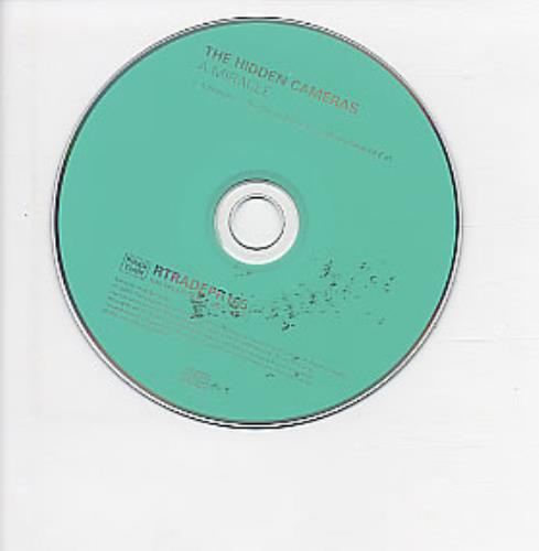 """The Hidden Cameras A Miracle CD single (CD5 / 5"""") UK HICC5AM253235"""