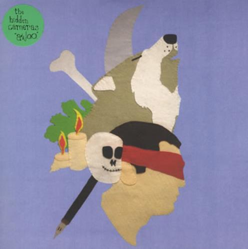 "The Hidden Cameras Awoo 7"" vinyl single (7 inch record) UK HIC07AW374153"