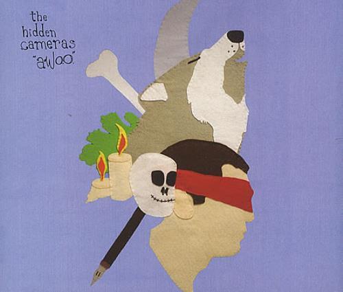 """The Hidden Cameras Awoo CD single (CD5 / 5"""") UK HICC5AW390037"""