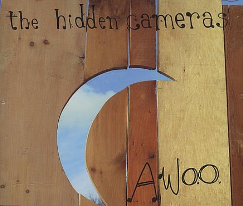 The Hidden Cameras Awoo CD album (CDLP) UK HICCDAW390364