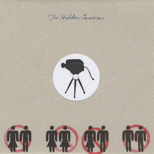 """The Hidden Cameras Ban Marriage 7"""" vinyl single (7 inch record) UK HIC07BA371244"""