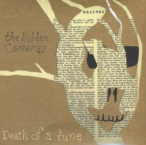 "The Hidden Cameras Death Of A Tune 7"" vinyl single (7 inch record) US HIC07DE381200"