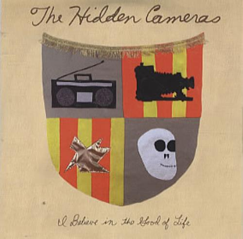 """The Hidden Cameras I Believe In The Food Of Life CD single (CD5 / 5"""") UK HICC5IB306164"""