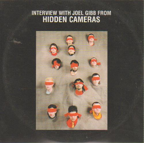 The Hidden Cameras Interview With Joel Gibb CD album (CDLP) UK HICCDIN649129