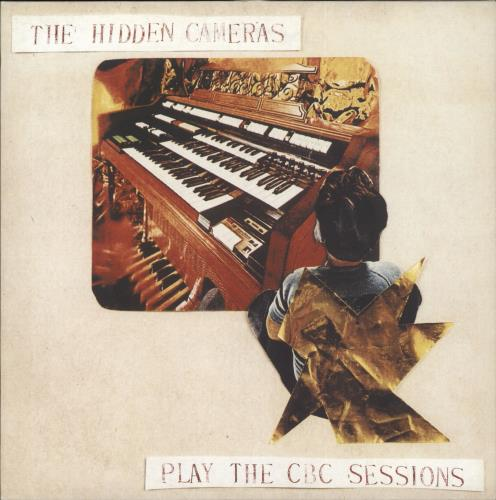 "The Hidden Cameras Play The CBC Sessions 10"" vinyl single (10"" record) UK HIC10PL287779"