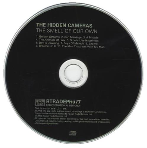 The Hidden Cameras The Smell Of Our Own CD album (CDLP) UK HICCDTH241488