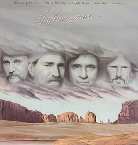 The Highwaymen (Country) Highwayman vinyl LP album (LP record) UK HIALPHI295948