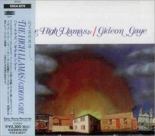 The High Llamas Gideon Gaye CD album (CDLP) Japanese LLACDGI542761