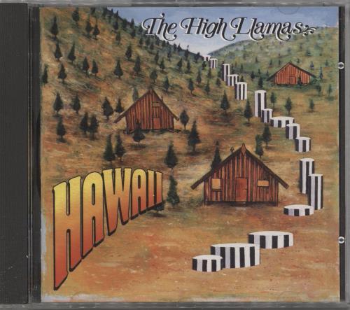 The High Llamas Hawaii CD album (CDLP) UK LLACDHA721177