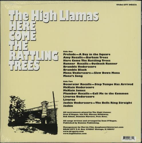 The High Llamas Here Come The Rattling Trees - sealed vinyl LP album (LP record) US LLALPHE759662