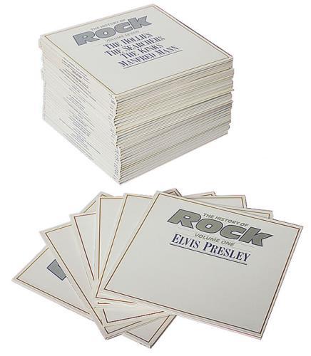The History Of Rock The History Of Rock - Complete vinyl LP album (LP record) UK UYQLPTH490929