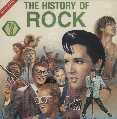 The History Of Rock The History Of Rock Vol. 8 vinyl LP album (LP record) South African UYQLPTH753847