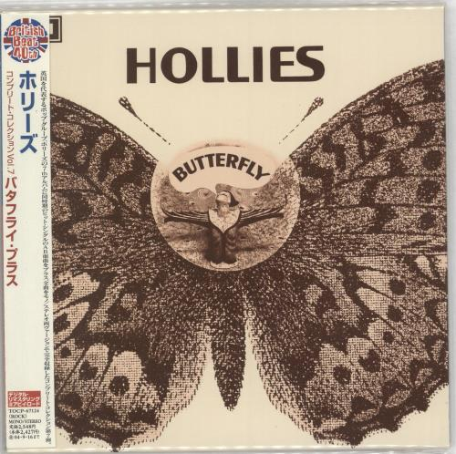 The Hollies Butterfly CD album (CDLP) Japanese HLLCDBU714590