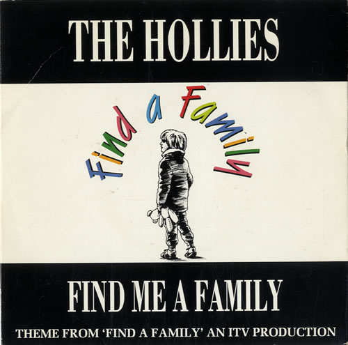 "The Hollies Find Me A Family 7"" vinyl single (7 inch record) UK HLL07FI59278"
