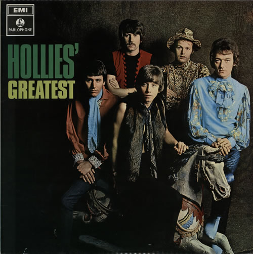 The Hollies Hollies' Greatest - 1st - EX vinyl LP album (LP record) UK HLLLPHO56475