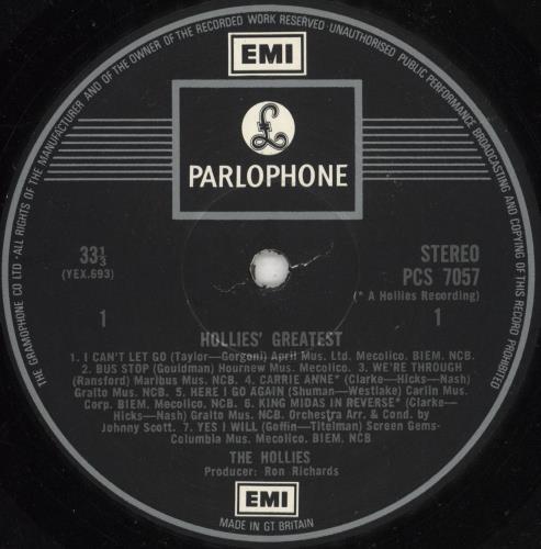 The Hollies Hollies' Greatest - two box - Gram vinyl LP album (LP record) UK HLLLPHO596746