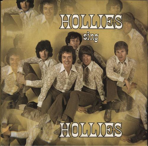 The Hollies Hollies Sing Hollies - 1st - VG vinyl LP album (LP record) UK HLLLPHO704136