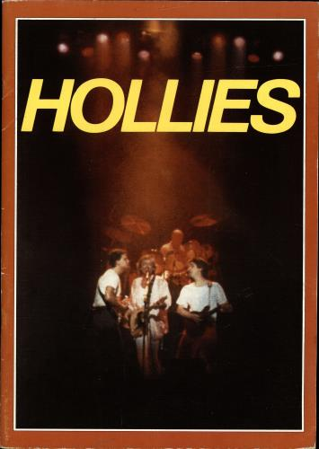 The Hollies Hollies tour programme UK HLLTRHO689398