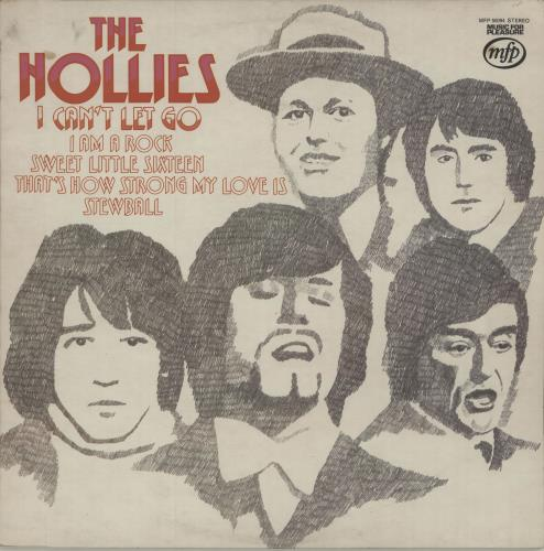The Hollies I Can't Let Go vinyl LP album (LP record) UK HLLLPIC556775