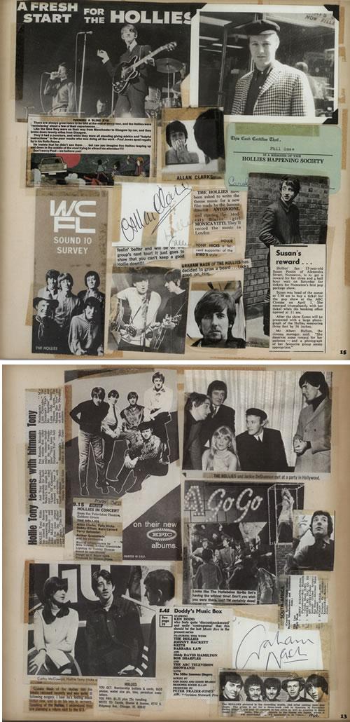 The Hollies Live - 40th Anniversary Tour tour programme UK HLLTRLI579930