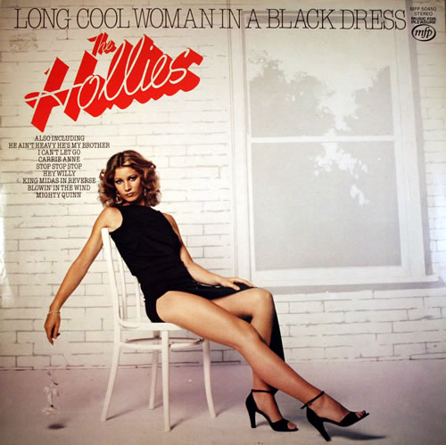 The Hollies Long Cool Woman In A Black Dress Uk Vinyl Lp