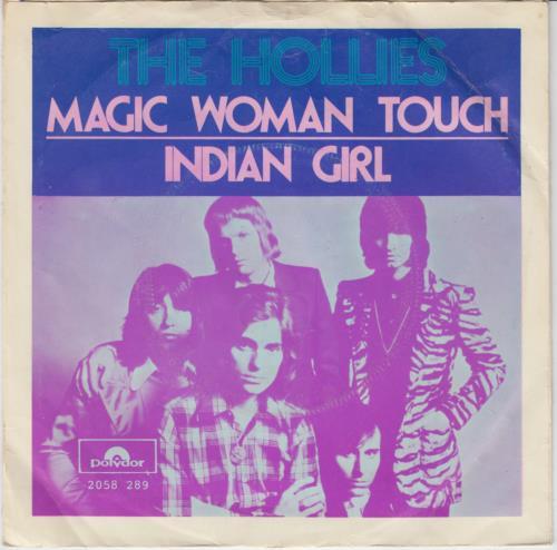 "The Hollies Magic Woman Touch + P/S 7"" vinyl single (7 inch record) Dutch HLL07MA646180"