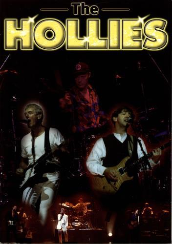 The Hollies On Tour - Autographed + Ticket & Flyers tour programme UK HLLTRON689431
