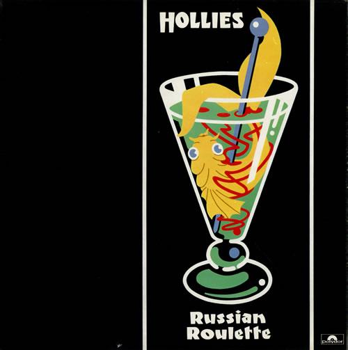 The Hollies Russian Roulette + Inner vinyl LP album (LP record) UK HLLLPRU80970
