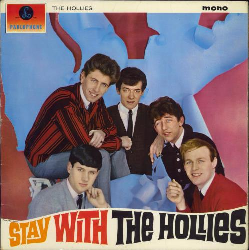 The Hollies Stay With The Hollies - 2nd - EX/VG+ vinyl LP album (LP record) UK HLLLPST607456