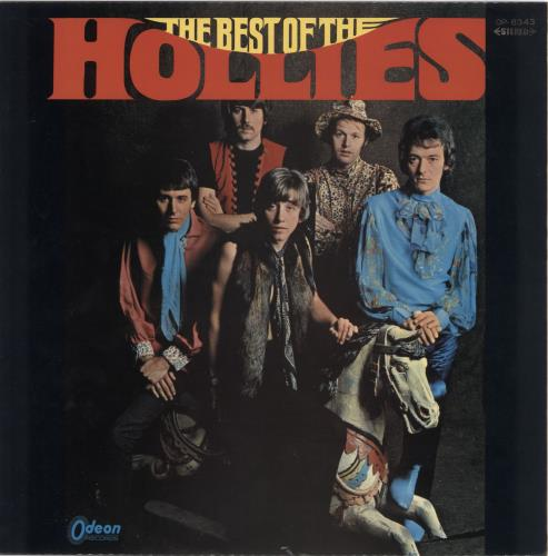 The Hollies The Best Of The Hollies - Red Vinyl vinyl LP album (LP record) Japanese HLLLPTH560366
