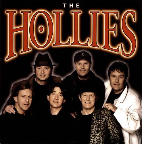 The Hollies The Hollies + Ticket Stub tour programme UK HLLTRTH675928