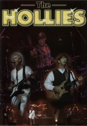 The Hollies The Hollies + Ticket stubs tour programme UK HLLTRTH643213