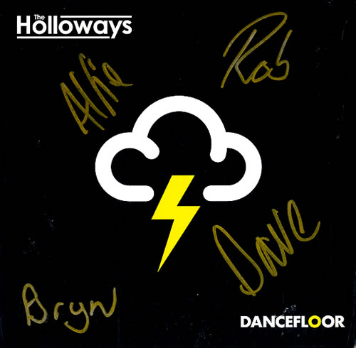 "The Holloways Dancefloor - Autographed 7"" vinyl single (7 inch record) UK HOY07DA440415"