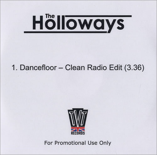 The Holloways Dancefloor CD-R acetate UK HOYCRDA477201