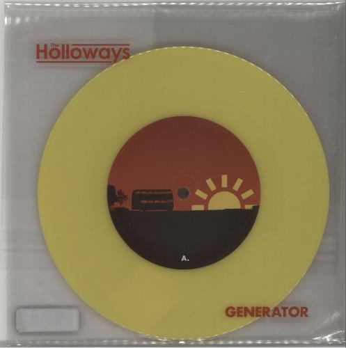 "The Holloways Generator (2007 Issue) - Yellow Vinyl 7"" vinyl single (7 inch record) UK HOY07GE657638"