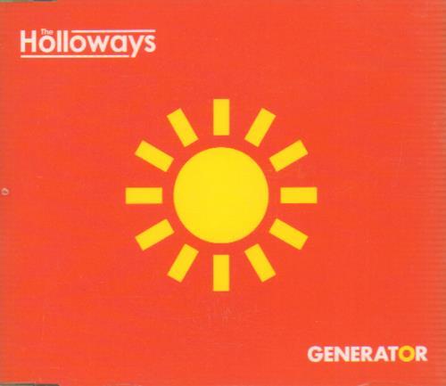 "The Holloways Generator CD single (CD5 / 5"") UK HOYC5GE657803"