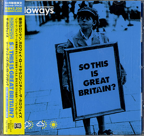 The Holloways So This Is Great Britain? CD album (CDLP) Japanese HOYCDSO611014