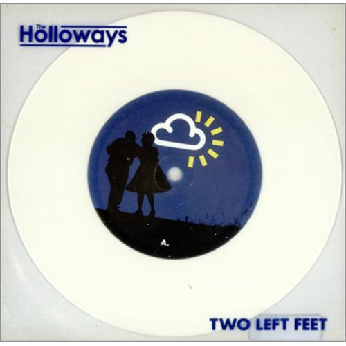 "The Holloways Two Left Feet 7"" vinyl single (7 inch record) UK HOY07TW414607"