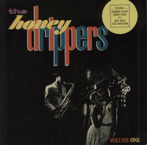 """The Honeydrippers Volume One - round stickered p/s 12"""" vinyl single (12 inch record / Maxi-single) German HND12VO759667"""