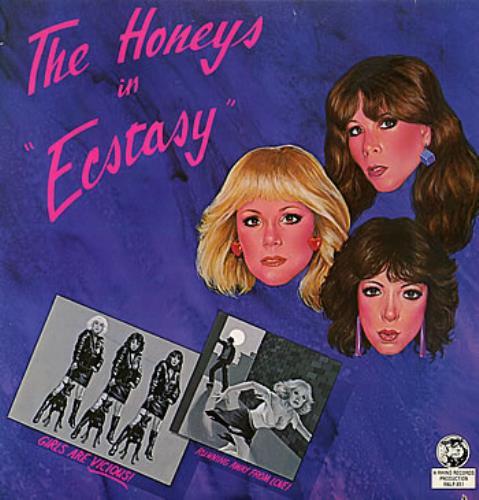 The Honeys Ecstasy - Autographed vinyl LP album (LP record) US HNYLPEC301129