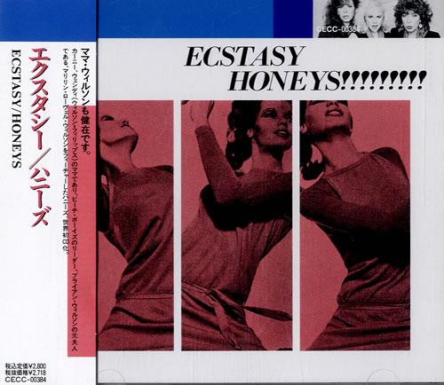 The Honeys Ecstasy CD album (CDLP) Japanese HNYCDEC45457