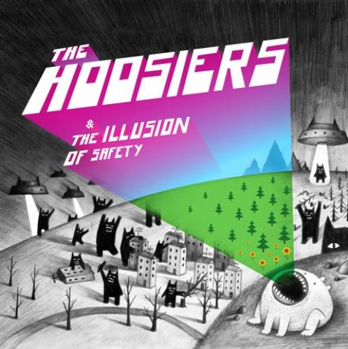 The Hoosiers The Illusion Of Safety CD album (CDLP) UK T2HCDTH516602