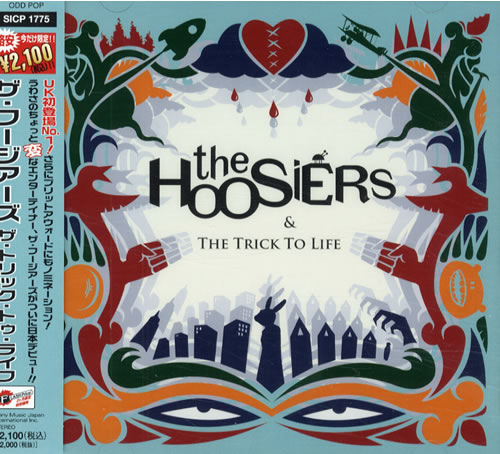 The Hoosiers The Trick To Life CD album (CDLP) Japanese T2HCDTH427897