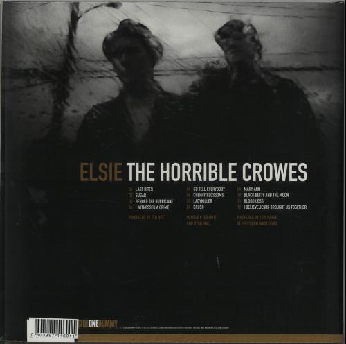 The Horrible Crowes Elsie - Red Vinyl - Sealed vinyl LP album (LP record) UK VUYLPEL569985
