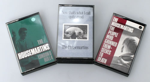 The Housemartins Collection of 3 Albums cassette album UK HMTCLCO550569