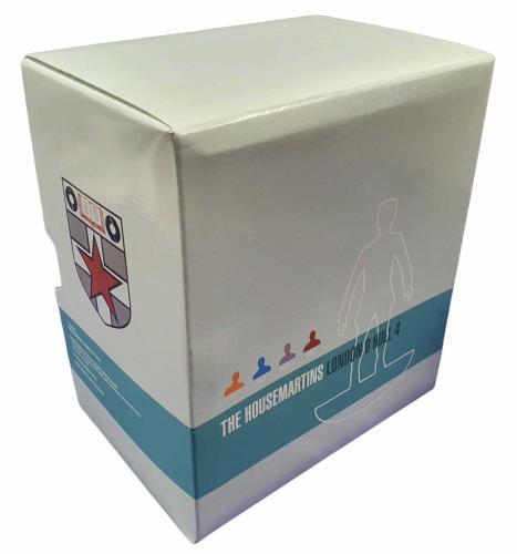 The Housemartins London 0 Hull 4 - Deluxe 'Subbuteo' Edition CD Album Box Set UK HMTDXLO734700