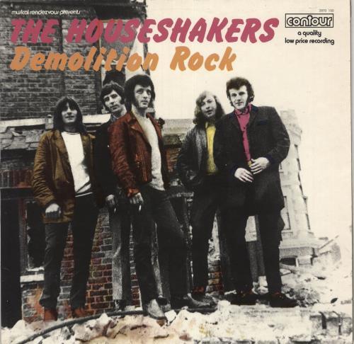 The Houseshakers Demolition Rock vinyl LP album (LP record) UK 0MYLPDE733727
