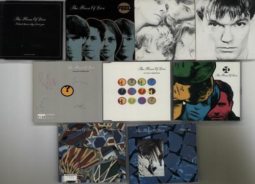 "The House Of Love Quantity of Thirteen CD Singles CD single (CD5 / 5"") UK HOLC5QU631172"