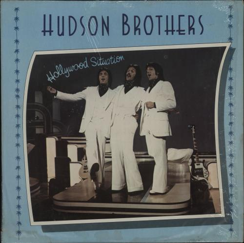 The Hudson Brothers Hollywood Situation vinyl LP album (LP record) US HUQLPHO757578